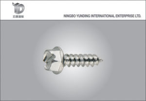 China Famous Fasteners Manufacturer Hex Washer Head Self -Tapping Screw with Good Quality pictures & photos