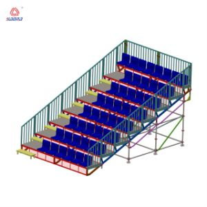 Wood Bleachers Indoor Gym Bleachers Seating pictures & photos