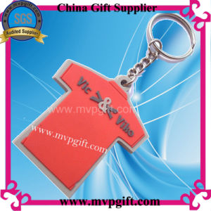 Cheap Price Customer Gift Plastic 3D Keychain pictures & photos