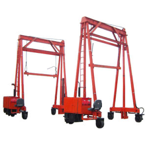 Walking Under Load Capacity 40t Container Crane pictures & photos