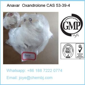 Oral Anabolic Steroids Oxandrolone Anavar 53-39-4 for Losing Weight Bodybuilding pictures & photos