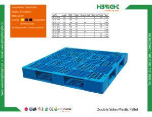 Nine Feet Single Side Plastic HDPE Pallet pictures & photos