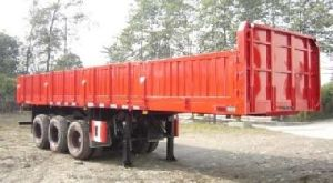 Semi Trailer with Sidewall (CGC9400) pictures & photos