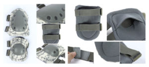 Black Tactical Military Combat Pads Motorcycle Safety Protective Knee Pads pictures & photos