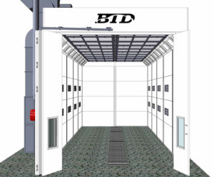 Cheap Price Big Size Paint Room Car Bus Spray Booth with Ce pictures & photos