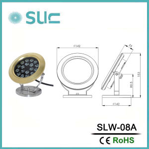 24V Single Color or RGB LED Underwater Light pictures & photos