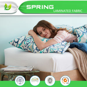Valued Microfiber Terry Cloth Waterproof Mattress Protector pictures & photos