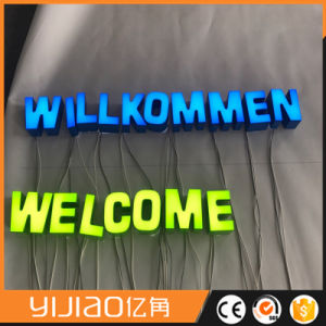 Front Light LED 3D Acrylic Sign pictures & photos