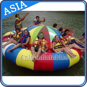 Durable 0.9mm PVC Tarpaulin Inflatable UFO / Saturn with Handles Rockers pictures & photos