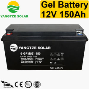 Free Maintenace 12+ Years Working Life 12 Volt 150ah Gel Deep Cycle Battery pictures & photos