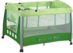 European Standard Second Layer Baby Playpen Travel Cot Baby Crib Baby Play Yard pictures & photos