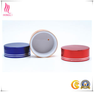 Colorful Aluminum Screw Lids for Cosmetic Jars pictures & photos