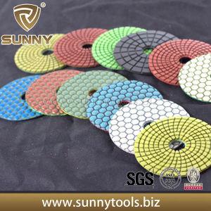 Sunny Wet and Dey Flexible Diamond Polishing Pad 3′′-8′′ pictures & photos
