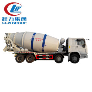 Small Cheap 6 Wheels 4cbm Concrete Mixer Truck pictures & photos