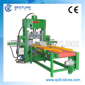 Hydraulic Stone Guillotine for Making Landscape Stones pictures & photos