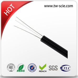 1 Core Black Drop Fiber Cable of Good Performance pictures & photos