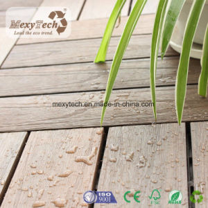 Waterproof WPC Interlocking Plastic DIY Deck Tiles for Household pictures & photos
