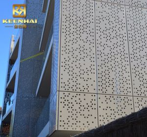 Perforated Aluminum Sheet Decorative Outside Wall Panels pictures & photos