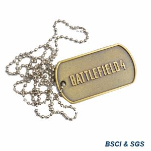 Custom Metal Military Antique Dog Tag (XD-0706) pictures & photos