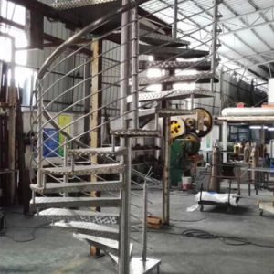 Prefabricated Stainless Steel Spiral Stairs pictures & photos