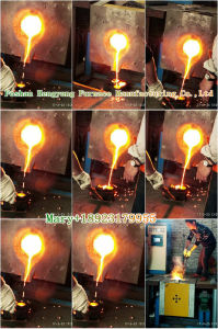 Medium Frequency Induction Melting Furnace with SCR pictures & photos