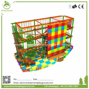 High Quality Children Playground Equipment Rope Adventure Challenge pictures & photos
