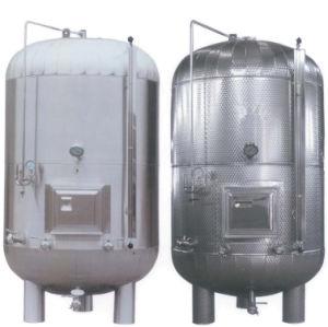 Sanitary Stainless Steel Milk Storage Tank Juice Storage Tank pictures & photos