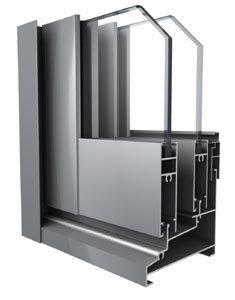 Aluminum/Aluminum Extrusion Profile of Door pictures & photos