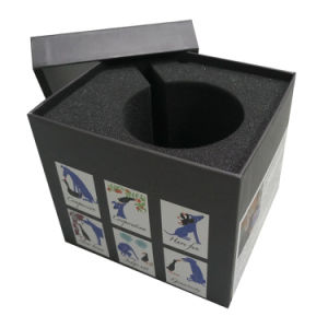 Rigid Gift Box for Cup Packaging with Black Foam pictures & photos