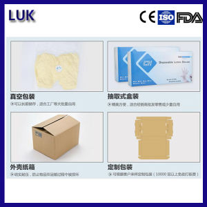 """High Quality 9"""" Latex Examination Gloves pictures & photos"""