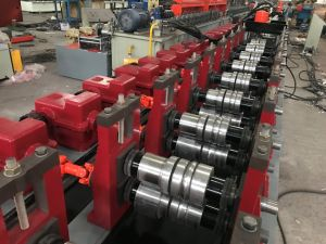 Good Quality Single Layer Door Frame Roll Forming Machine pictures & photos