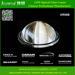 LED Optical Borosilicate Glass Lens for High Bay Lighting (KR50B)