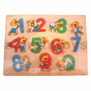 Wooden Number Puzzle (81013) pictures & photos