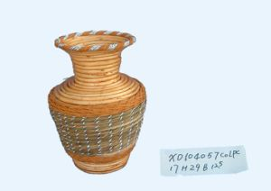 Wicker Jar (XD104057)