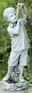 Garden Decoration for Granite Child Statue
