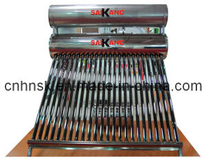 Stainless Steel Double Tank Solar Water Heater