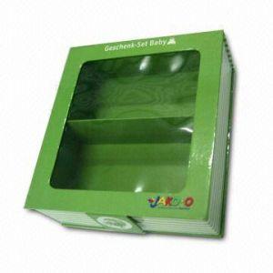 Gift Paper Box With PVC Window (HPZB-0041)