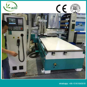 Intelligent Cutting and Drilling CNC Router with for Wood Caninet/Furniture pictures & photos