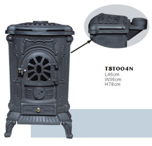 Cast Iron Free Standing Stove (TST004N)