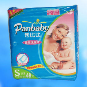 Popular Baby Diapers with PE Backsheet (JH063) pictures & photos