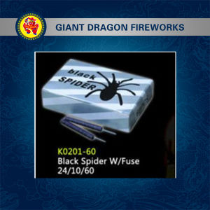 Black Spider with Fuse Firecracker pictures & photos