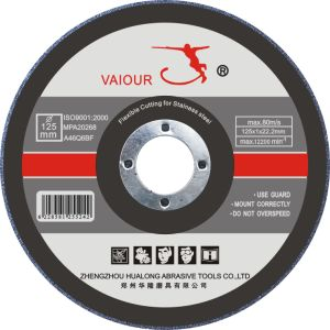 125X1.0X22.2mm Extra Thin Cutting Wheel for Inox
