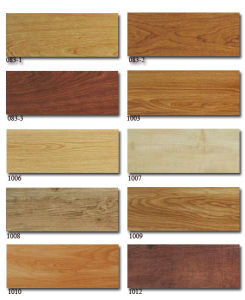 "Click Vinyl Floor Plank 6""*36""*5.0mm*0.5mm pictures & photos"
