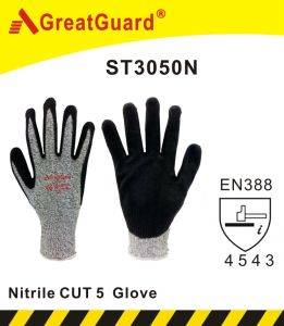 Supershield Cut 5 Glove (ST3050N) pictures & photos
