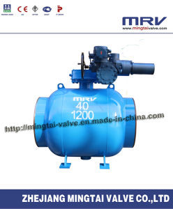Fully Welded Industrial Fixed Ball Valve