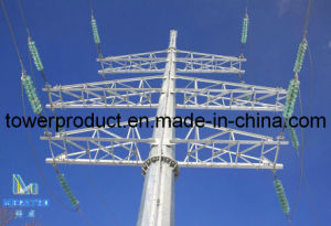 Monopole Tower for Power Transmission Line (MG-MPT005) pictures & photos