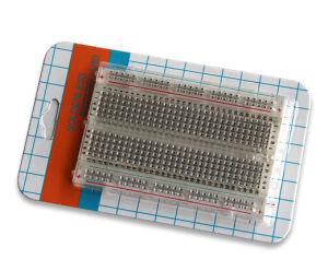 400 Points Transparent Solderless Breadboard (ZYJ-60)