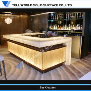 Artificial Marble Luxury High End Bar Counter (TW-PATB-013) pictures & photos