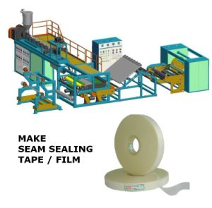 PU Seam Tape Making Extrude Machine