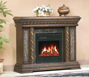 CE Approved European Electric Fireplace /European Style Fireplace (601) pictures & photos